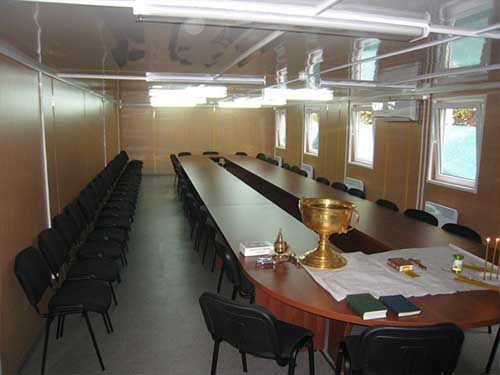 отделка офисов в модульных сооружениях